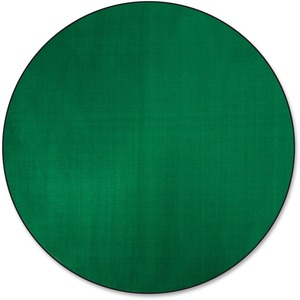 Flagship Carpets Classic Solid Color 6 Round Rug Servmart