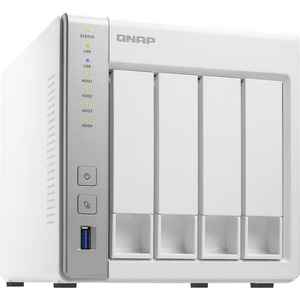 QNAP Turbo NAS TS-431P 4 x Total Bays SAN/NAS Storage System - Tower