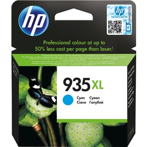 HP 935XL Original Ink Cartridge - Cyan - Inkjet - High Yield
