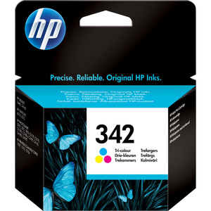 HP No. 342 Ink Cartridge - Cyan, Magenta, Yellow