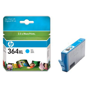HP No. 364XL Ink Cartridge - Cyan