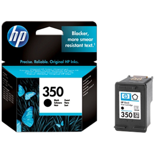 HP No. 350 Ink Cartridge - Black