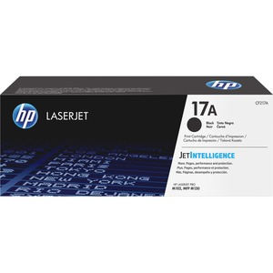 HP 17A Original Toner Cartridge - Black - Laser - Standard Yield - 1600 Pages