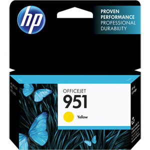 HP 951 Yellow Ink Cartridge - CN052AE#301
