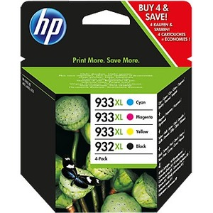 HP 932XL/933XL Ink Cartridge - Black, Cyan, Magenta, Yellow