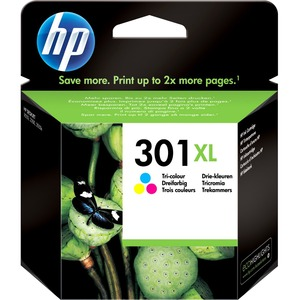 HP No. 301XL Ink Cartridge - Cyan, Magenta, Yellow