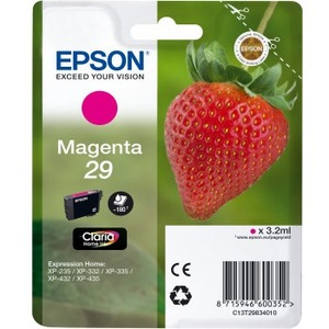 Epson 29 - Magenta - original - ink cartridge - for Expression Home XP-235, XP-332, XP-335, XP-432, XP-435