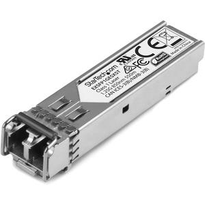 StarTech.com Juniper EX-SFP-1GE-SX Compatible SFP Module - 1000BASE-SX Fiber Optical SFP Transceiver - Lifetime Warranty - 1 Gbps - Maximum Transfer Distance: 550 m