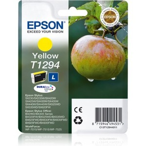 Epson DURABrite Ultra T1294 Ink Cartridge - Yellow - Inkjet - 445 Pages - 1 Pack