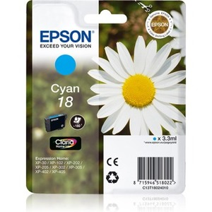 Epson Claria Home Ink Cartridge - Cyan - Inkjet - 180 Pages