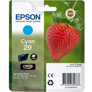 Epson Claria 29 Original Ink Cartridge - Cyan