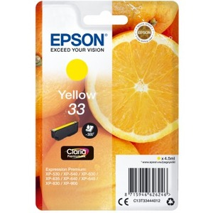 Epson Claria Premium Original Ink Cartridge - Yellow