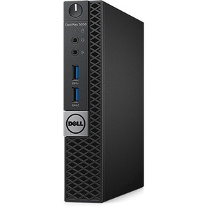 Dell OptiPlex 5050 Desktop Computer - Intel Core i5 7th Gen i5-7500T 2.70 GHz - 8 GB DDR4 SDRAM - 500 GB HDD - Windows 10 Pro 64-bit Multi Language - Micro PC -