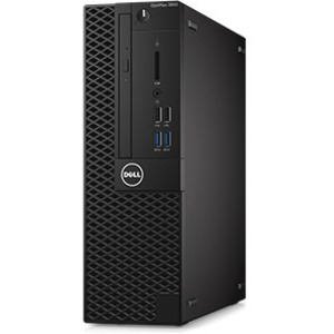 Dell OptiPlex 3050 Desktop Computer - Intel Core i5 7th Gen i5-7500 3.40 GHz - 8 GB DDR4 SDRAM - 256 GB SSD - Windows 10 Pro 64-bit Multi Language - Small Form F