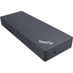 Lenovo USB 3 0 Type C Docking Station for Notebook/Tablet PC - 7 x USB  Ports - 5 x USB 3 0 - Network (RJ-45) - HDMI - VGA - Thunderbolt - Wired