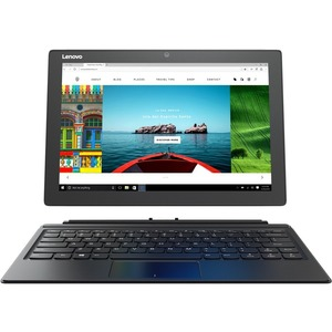 Lenovo IdeaPad Miix 510-12IKB 80XE0013UK 31 cm 12.2And#34; Touchscreen LCD 2 in 1 Notebook - Intel Core i3 6th Gen i3-6006U Dual-core 2 Core 2 GHz - 4 GB DDR4 SDRAM