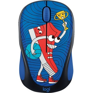 Logitech DOODLE COLLECTION M238 Mouse - Optical - Wireless - 3 Buttons - Sneakerhead
