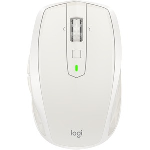 Logitech MX Anywhere 2S Mouse - Darkfield - Wireless - 7 Buttons - Light Grey