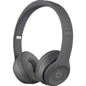 Beats by Dr. Dre Solo3 Wired/Wireless Bluetooth Stereo Headset - Over-the-head - Circumaural - Asphalt Gray - Mini-phone
