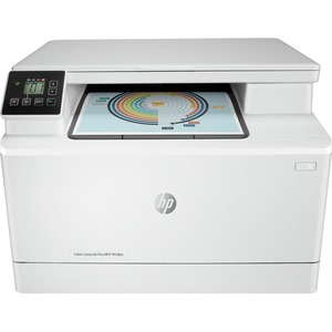 HP LaserJet Pro M180n Laser Multifunction Printer - Colour