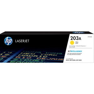 HP 203A Original Toner Cartridge - Yellow - Laser - 1300 Pages