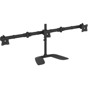 StarTech.com Triple Monitor Stand - Crossbar - Steel Andamp; Aluminum - For VESA Mount Monitors up to 27in - Computer Monitor Stand - 3 Monitor Arm - Up to 68.6 cm 27And#34; S