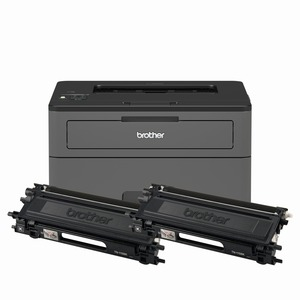 Brother HL-L2370DWXL Extended Print Compact Laser Printer