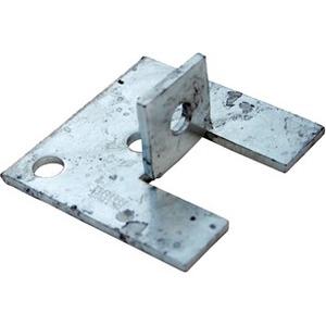 Unistrut Single Channel Base Floor Bracket Fittings 41x41 Hot Dip Galvanised