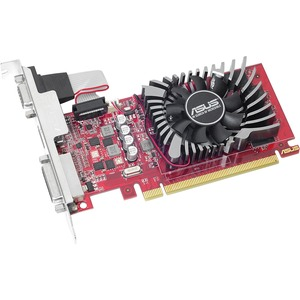 Asus R7240-2GD5-L Radeon R7 240 Graphic Card - 2 GB GDDR5 - Low-profile - 730 MHz Core - 128 bit Bus Width - HDMI - VGA - DVI