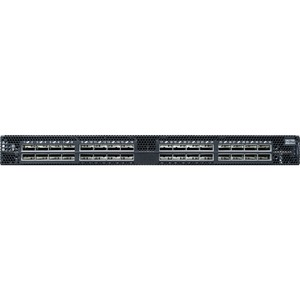 Mellanox Spectrum SN2700 Manageable Layer 3 Switch - 32 Expansion Slot - Modular - Optical Fiber - 3 Layer Supported - 1U High - Rack-mountable, Rail-mountable