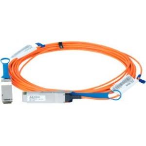 Mellanox LinkX Fibre Optic Network Cable for Network Device, Switch - 10 m - 1 x QSFP Network - 1 x QSFP Network - 12.50 GB/s