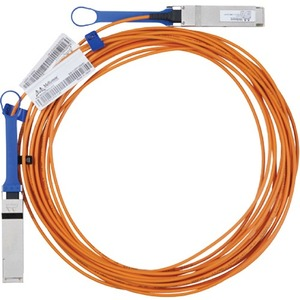 Mellanox MC2210310-015 Fibre Optic Network Cable for Network Device - 15 m - Male QSFP - Male QSFP