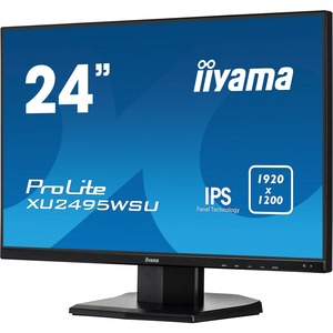 iiyama ProLite XU2495WSU-B1 24.1inch LED LCD Monitor - 16:10 - 5 ms