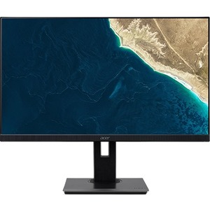 Acer B277 27And#34; Full HD LED LCD Monitor - 16:9 - Black