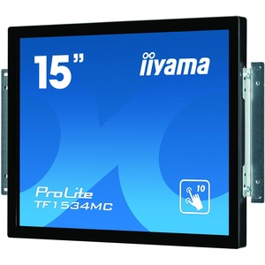iiyama ProLite TF1534MC-B5X 38.1 cm 15inch Open-frame LCD Touchscreen Monitor - 4:3 - 8 ms - Projected Capacitive - Multi-touch Screen - 1024 x 768 - XGA - 16.2 Milli