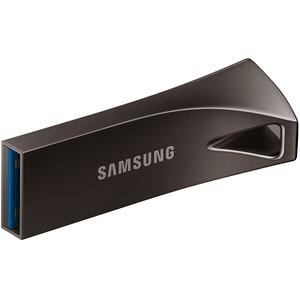 Samsung BAR Plus 128 GB USB 3.1 Type A Flash Drive - Titanium Grey - 1