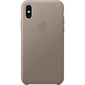 Apple Case for Apple iPhone XS Smartphone - Taupe