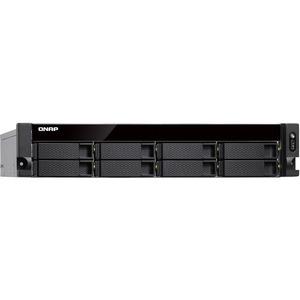 QNAP TS-877XU-RP-1200-4G 8 x Total Bays SAN/NAS Storage System - AMD Ryzen 3 Quad-core 4 Core 3.10 GHz - 4 GB RAM - DDR4 SDRAM - 2U Rack-mountable - Serial ATA/600