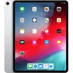 Apple iPad Pro 3rd Generation Tablet - 32.8 cm 12.9And#34; - 512 GB Storage - iOS 12 - 4G - Silver - Apple A12X Bionic SoC - 7 Megapixel Front Camera - 12 Megapixel Re