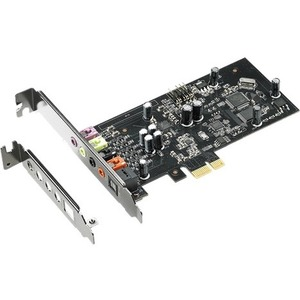 Asus Xonar SE Sound Board - 24 bit DAC Data Width - 5.1 Sound Channels - Internal - C-Media 6620A - PCI Express - 116 dB - 3 Byte 192 kHz Maximum Playback Sampling R