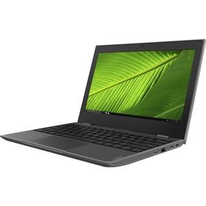 Lenovo 100e Windows 2nd Gen 81M8000LUK 29.5 cm 11.6And#34; Netbook - 1366 x 768 - Intel Celeron N4000 Dual-core 2 Core 1.10 GHz - 4 GB RAM - 64 GB Flash Memory - Grey