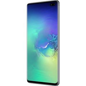 Samsung Galaxy S10plus SM-G975F/DS 128 GB Smartphone - 16.3 cm 6.4And#34; QHDplus - 8 GB RAM - Android 9.0 Pie - 4G - Prism Green