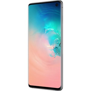 Samsung Galaxy S10 SM-G973F/DS 512 GB Smartphone - 15.5 cm 6.1And#34; QHDplus - 8 GB RAM - Android 9.0 Pie - 4G - Prism White