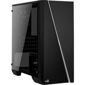 AeroCool Cylon Mini Computer Case - Micro ATX, Mini ITX Motherboard Supported - Mid-tower - Steel, Acrylic - Black - 2.60 kg - 5 x Bays - 1 x 80 mm x Fans Instal