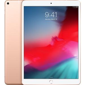 Apple iPad Air 3rd Generation Tablet - 26.7 cm 10.5And#34; - 64 GB Storage - iOS 12 - 4G - Gold - Apple A12 Bionic SoC - 7 Megapixel Front Camera - 8 Megapixel Rear Ca
