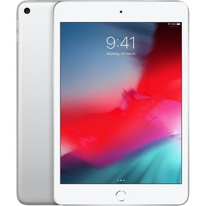 Apple iPad mini 5th Generation Tablet - 20.1 cm 7.9And#34; - 256 GB Storage - iOS 12 - Silver - Apple A12 Bionic SoC - 7 Megapixel Front Camera - 8 Megapixel Rear Came
