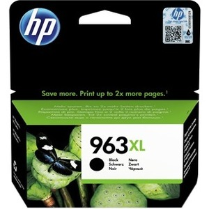 HP 963XL Ink Cartridge - Black - Inkjet - High Yield - 2000 Pages