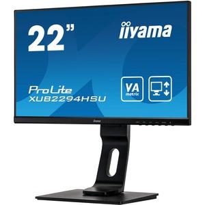iiyama ProLite XUB2294HSU-B1 21.5And#34; Full HD WLED LCD Monitor - 16:9 - Matte Black