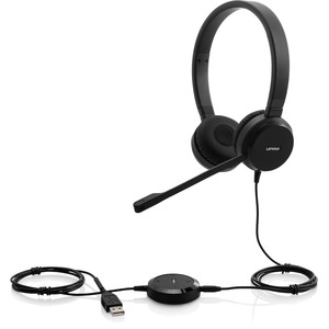 LENOVO Pro Wired Stereo VOIP Headset 4XD0S92991 Skype for Business Certified