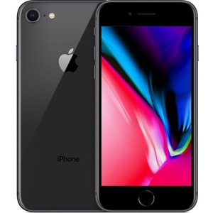 Apple iPhone 8 A1905 128 GB Smartphone - 11.9 cm 4.7And#34; HD - 2 GB RAM - iOS 13 - 4G - Space Gray